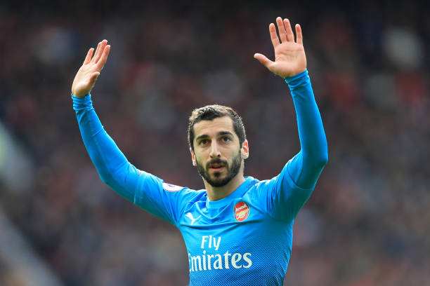 7bf59dd187f Mkhitaryan Is Happy That Aubameyang And Sokratis Are At Arsenal ...
