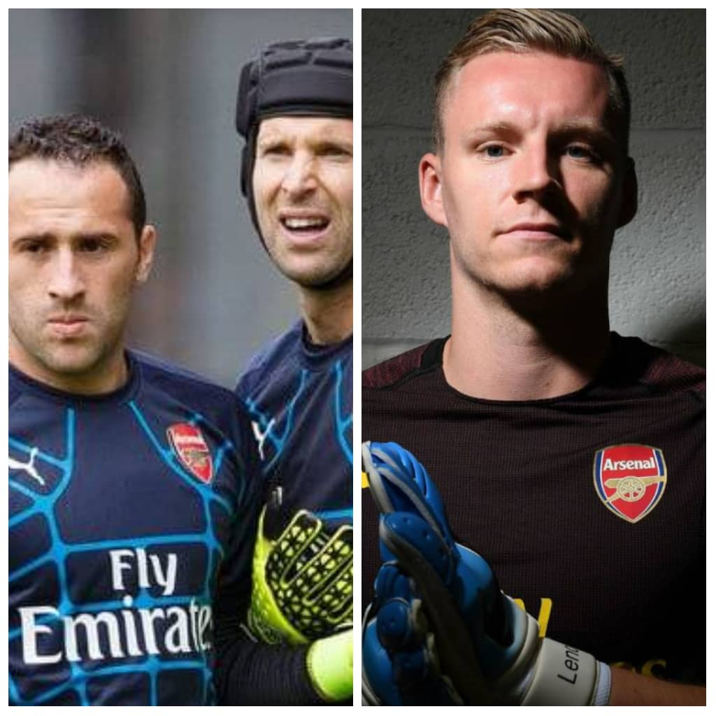 Petr Cech, Bernd and David Ospina