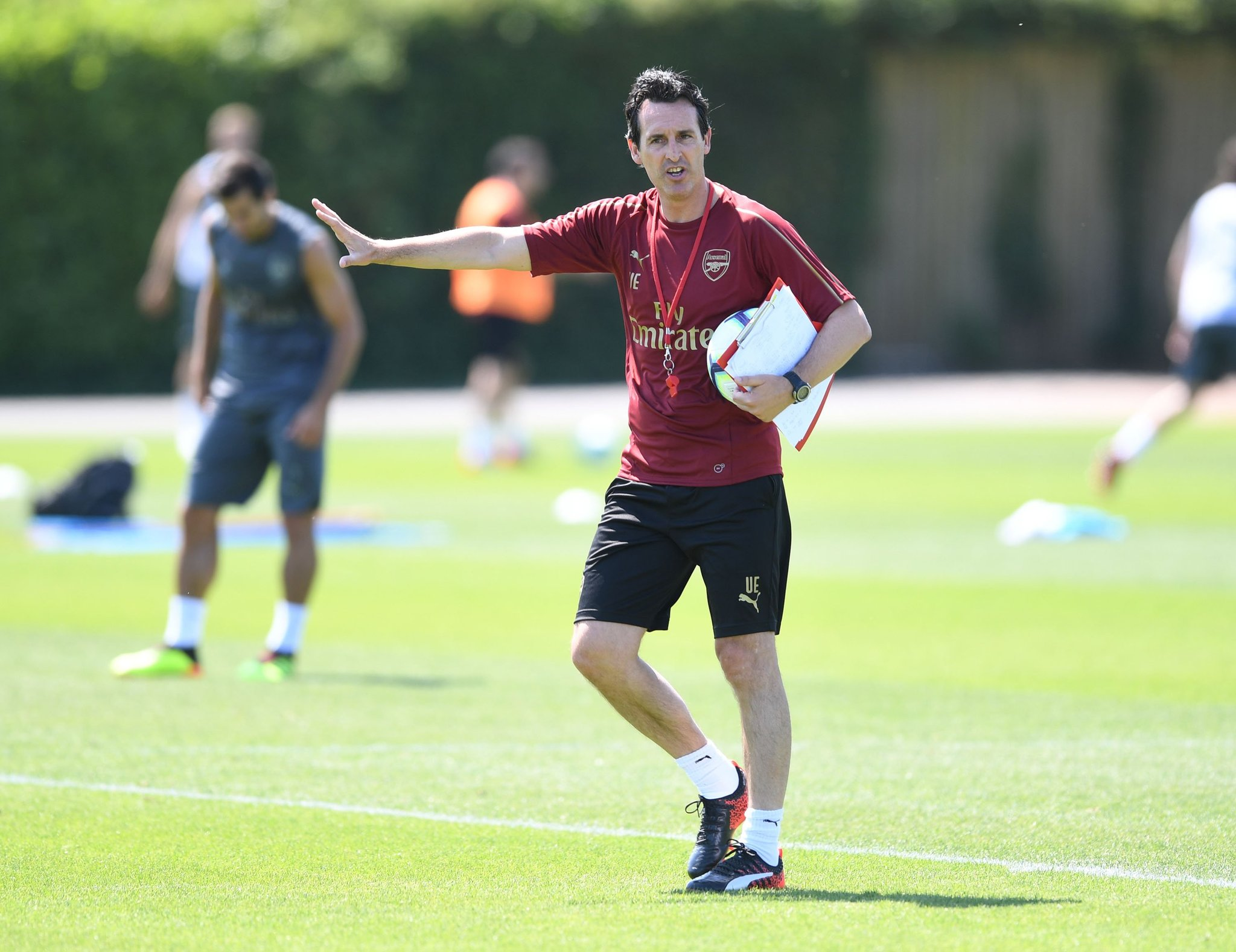 Unai Emery In Training