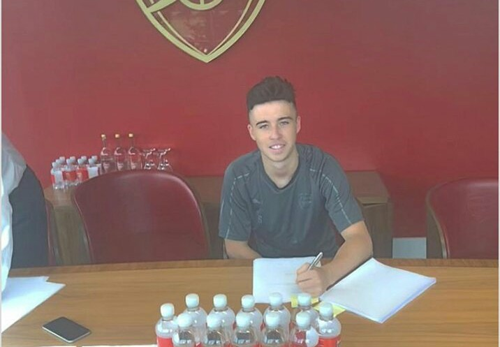 Arsenal New Signing Sam Greenwood