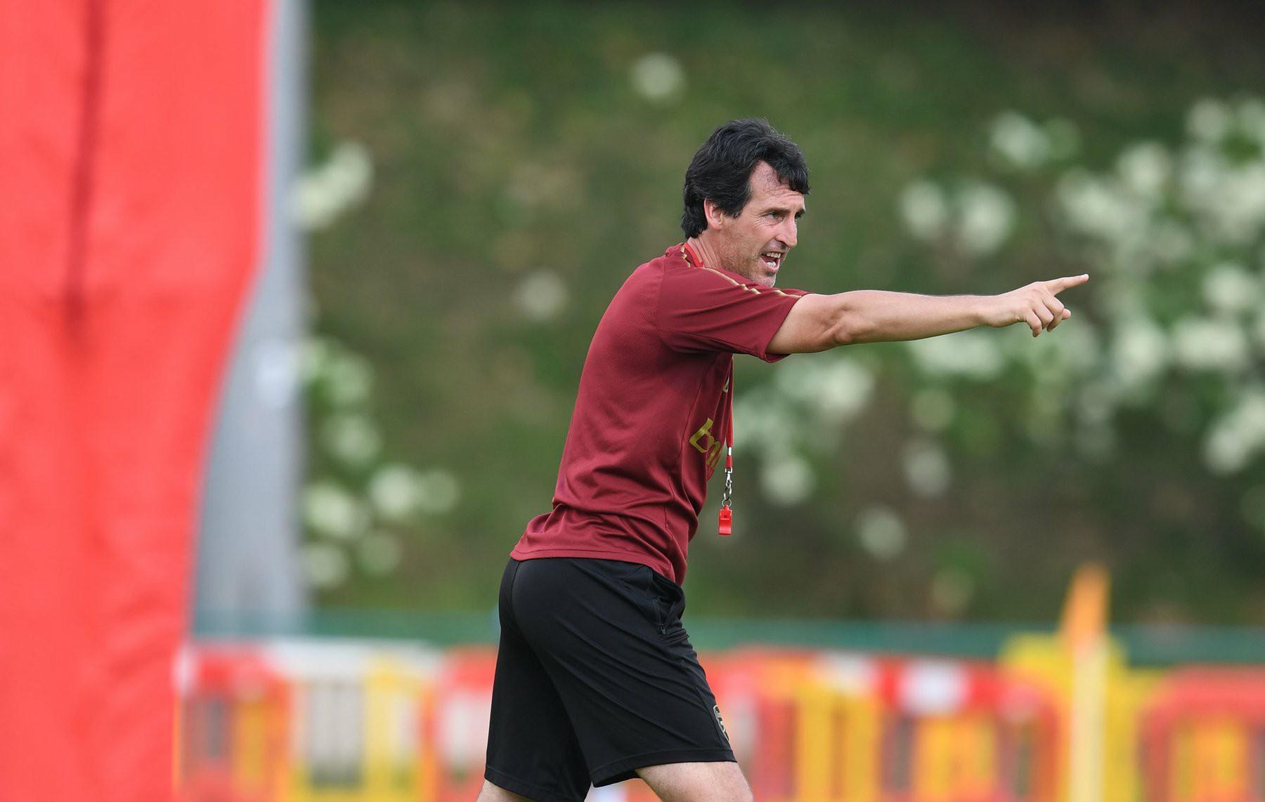 Unai Emery In Training