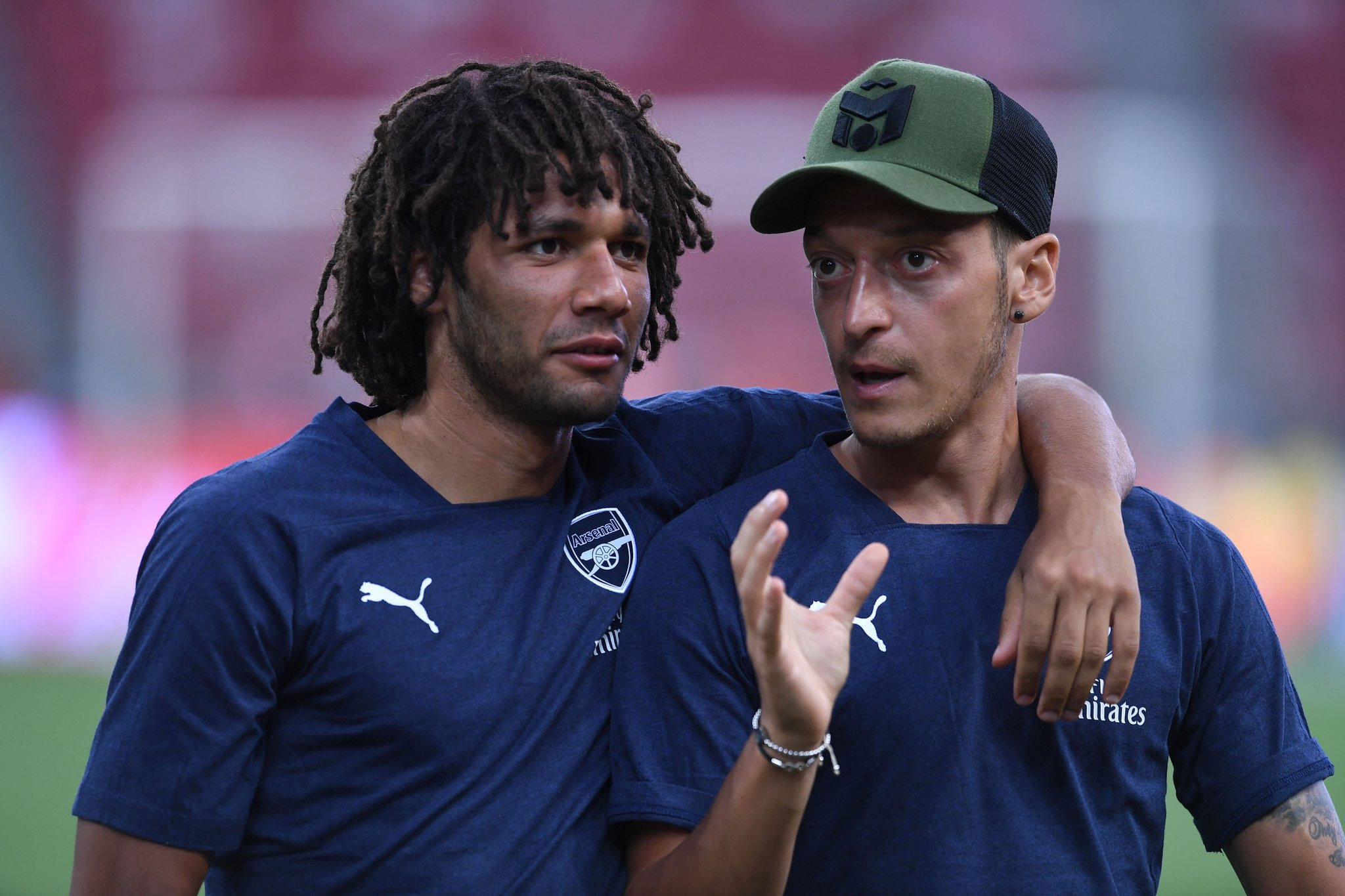 Ozil and Elneny