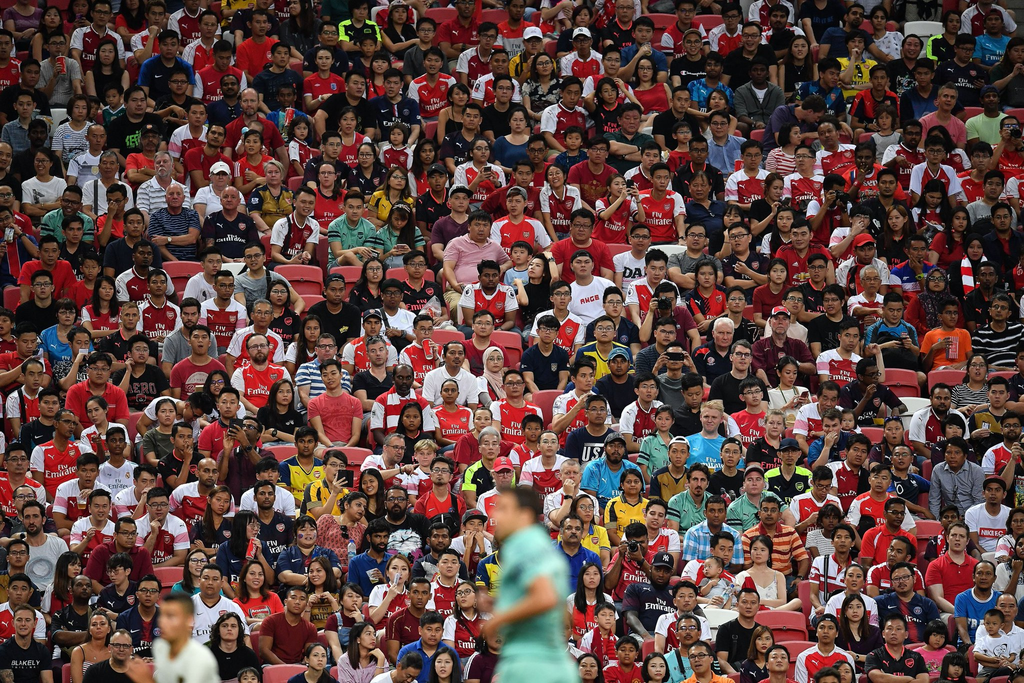 Arsenal Fans in Singapore