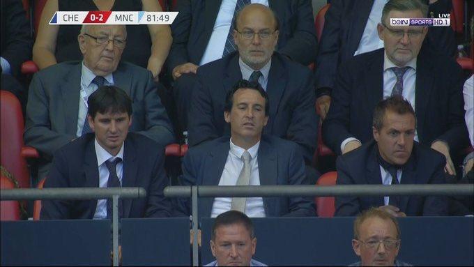 Unai Emery Attends FA Community Shield