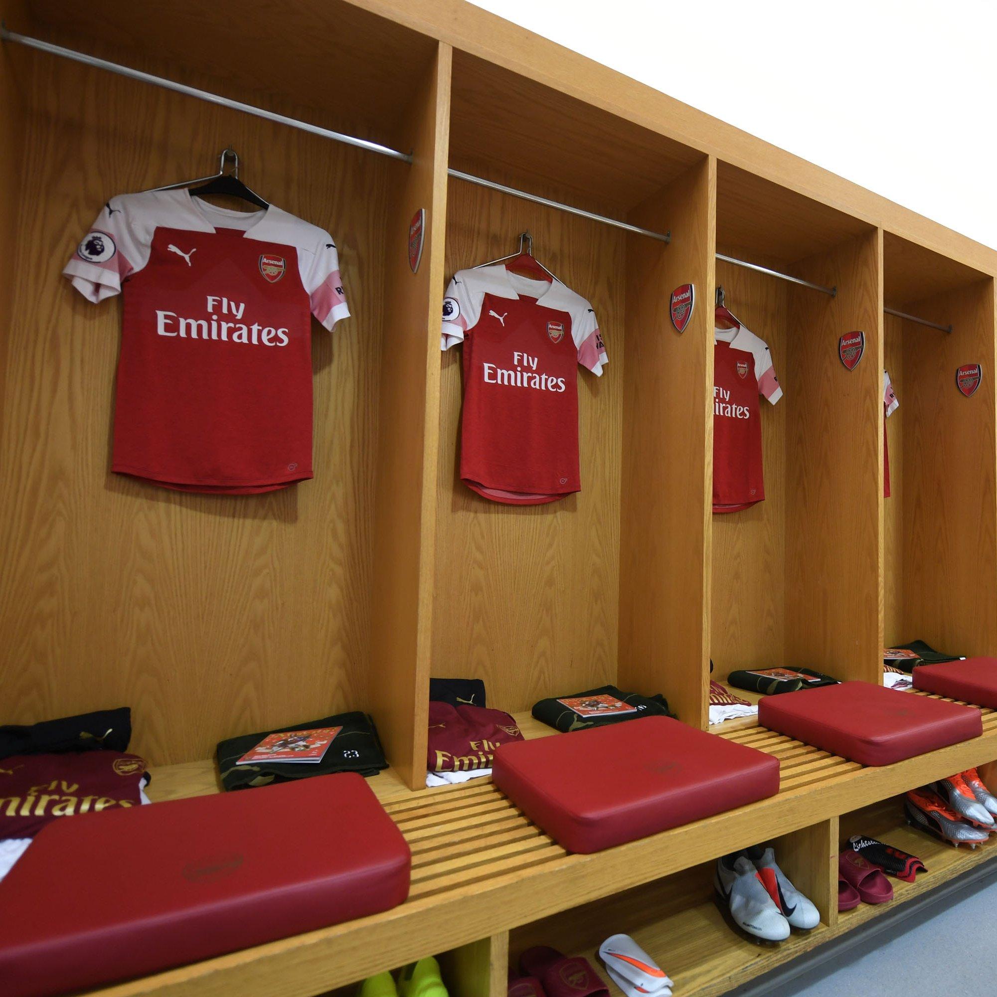 Arsenal Dressing Room