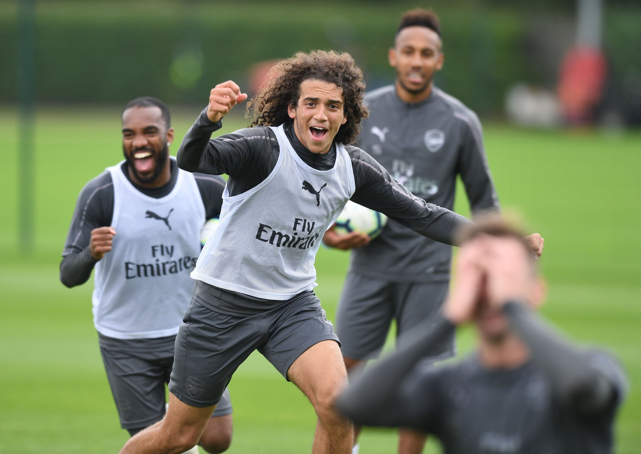 Matteo Guendouzi celebrating