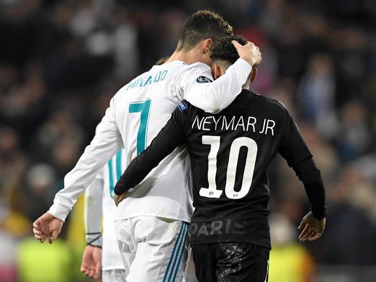 Cristiano Ronaldo and Neymar