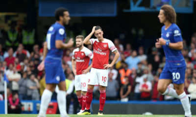 Arsenal Players Disappointed
