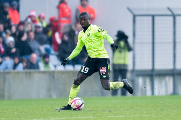 Man United 'push ahead with £70m bid for Lille star Nicolas Pepe'