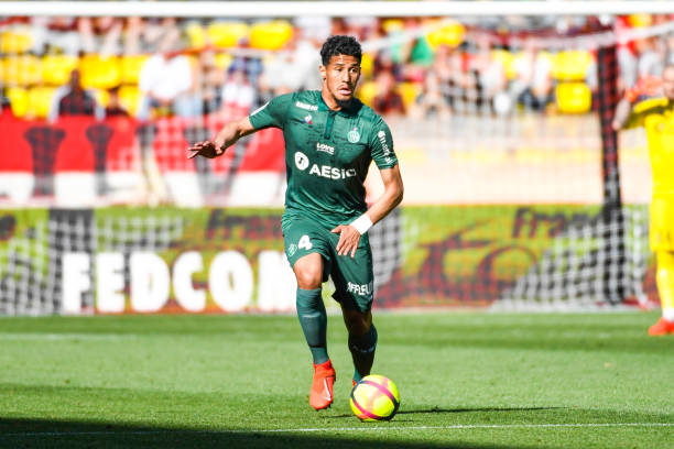 Arsenal scoff at Spurs competition for St Etienne defender William Saliba
