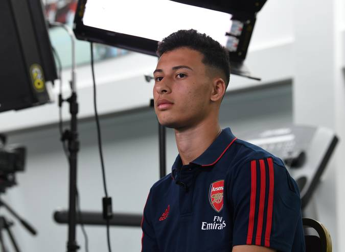 Arsenal sign Brazilian forward Gabriel Martinelli on long-term deal