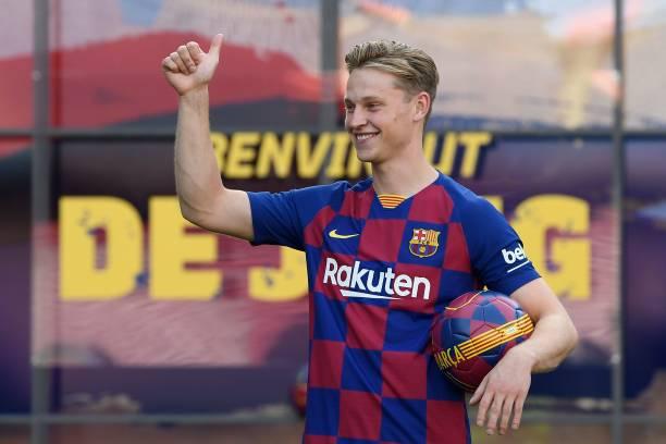 Frenkie de Jong envisaged Arsenal move before joining Barcelona