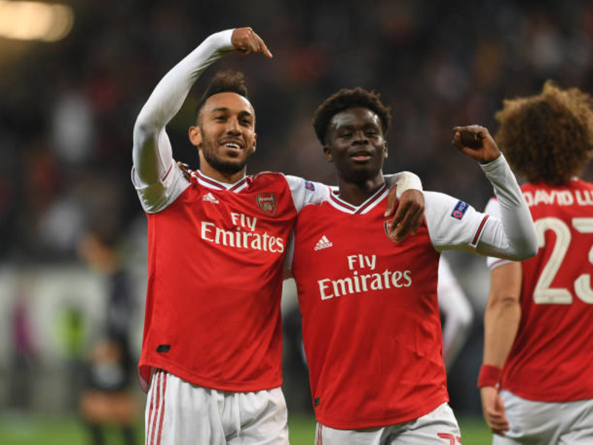 Report: Update on Aubameyang and Saka new contract talks as they ...