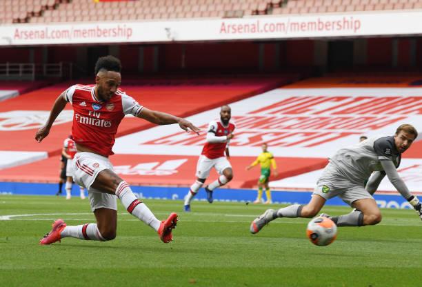 Arsenal manager Arteta feels 'positive' about Aubameyang contract talks