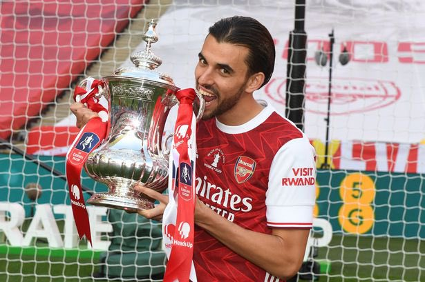 Arsenal midfielder Dani Ceballos: Real Betis in contact all season