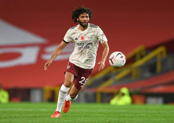 Egypt's Arsenal midfielder Elneny tests positive for COVID-19